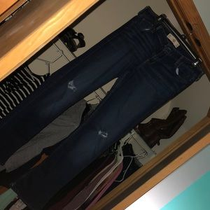 Hollister flare boot cut jeans